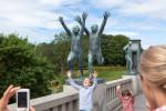 Norwegen 2013: Tag 22 – Oslo und Herrn Vigeland sein Park, Felszeichnungen in Tanumsvede und Abschied in Fjällbacka