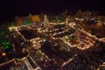 Weihnachtsmarkt Erfurt II: Vom Himmel hoch…