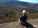 Klettern hoch über Baden-Baden – der Battert