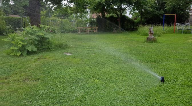 Garten Beregnungsanlage: Damit der Urlaub ganz entspannt wird