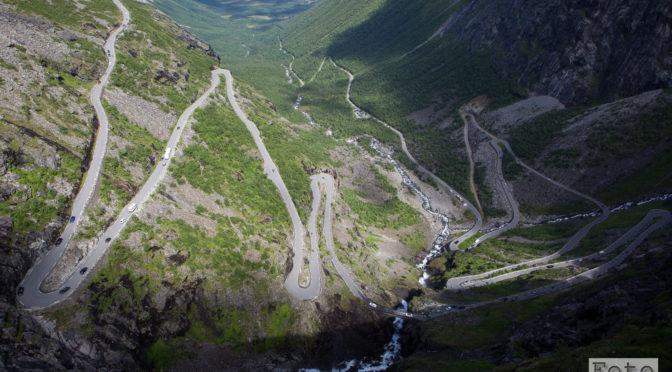 Norwegen 2016: Trollstigen, jedoch ist es dahinter viel schöner!