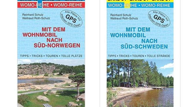 Empfehlung: Wohnmobilführer Norwegen und Wohnmobilführer Schweden