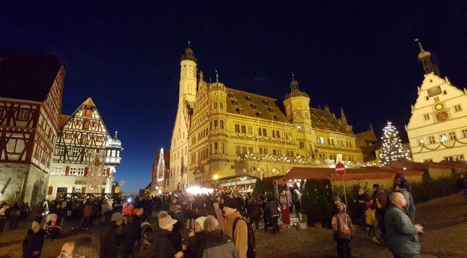 Tour de Weihnachtsmarkt: Rothenburg ob der Tauber