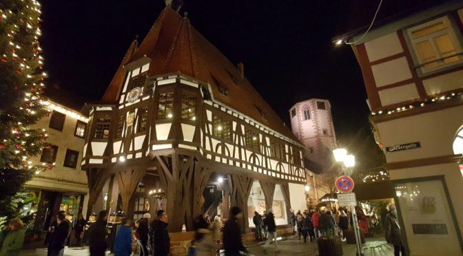 Tour de Weihnachtsmarkt: Michelstadt
