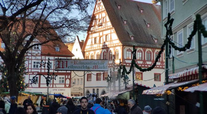 Tour de Weihnachtsmarkt: Nördlingen