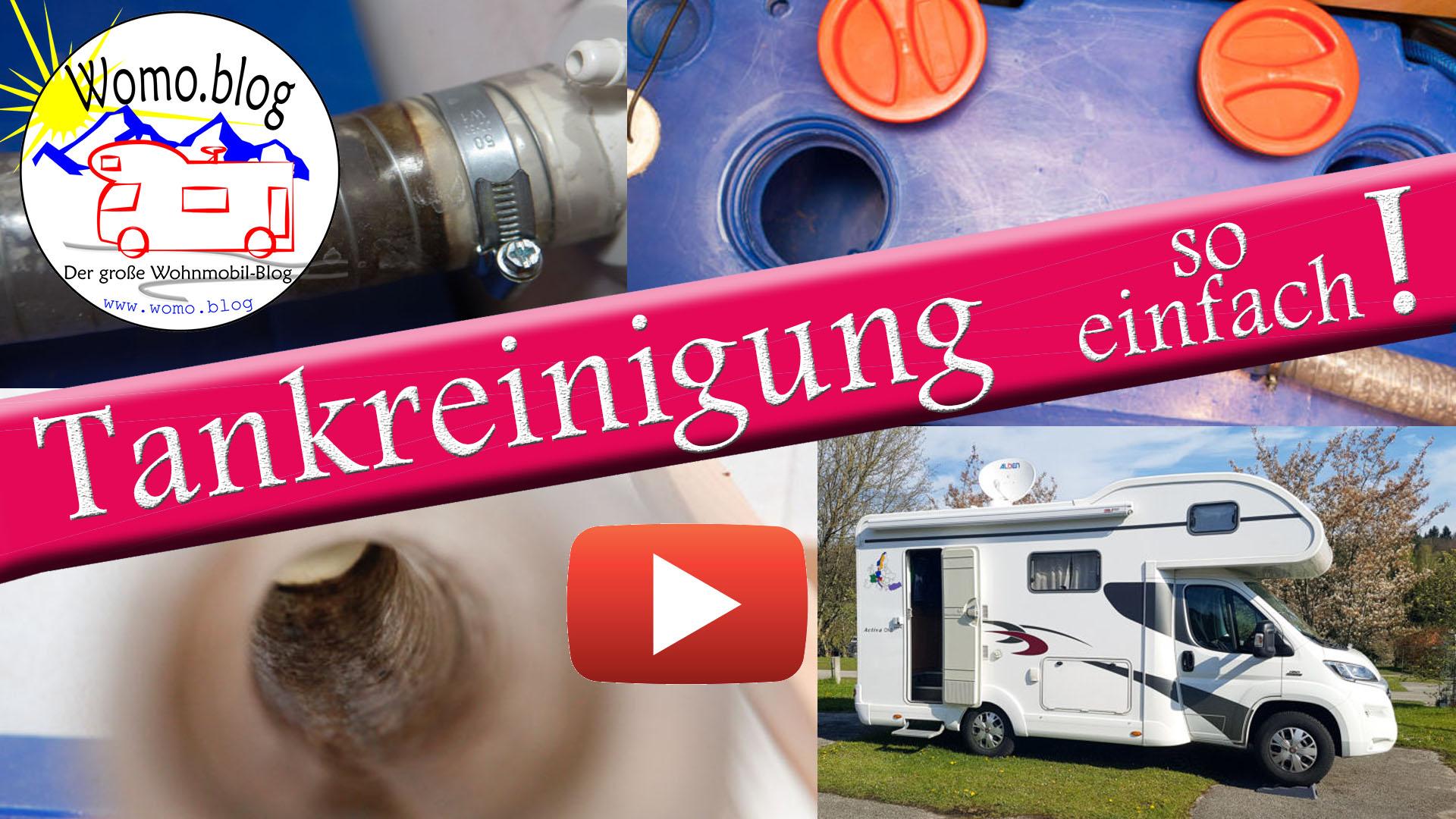 Tankreinigung, Wasserrohre reinigen, Tankdesinfektion - so geht es