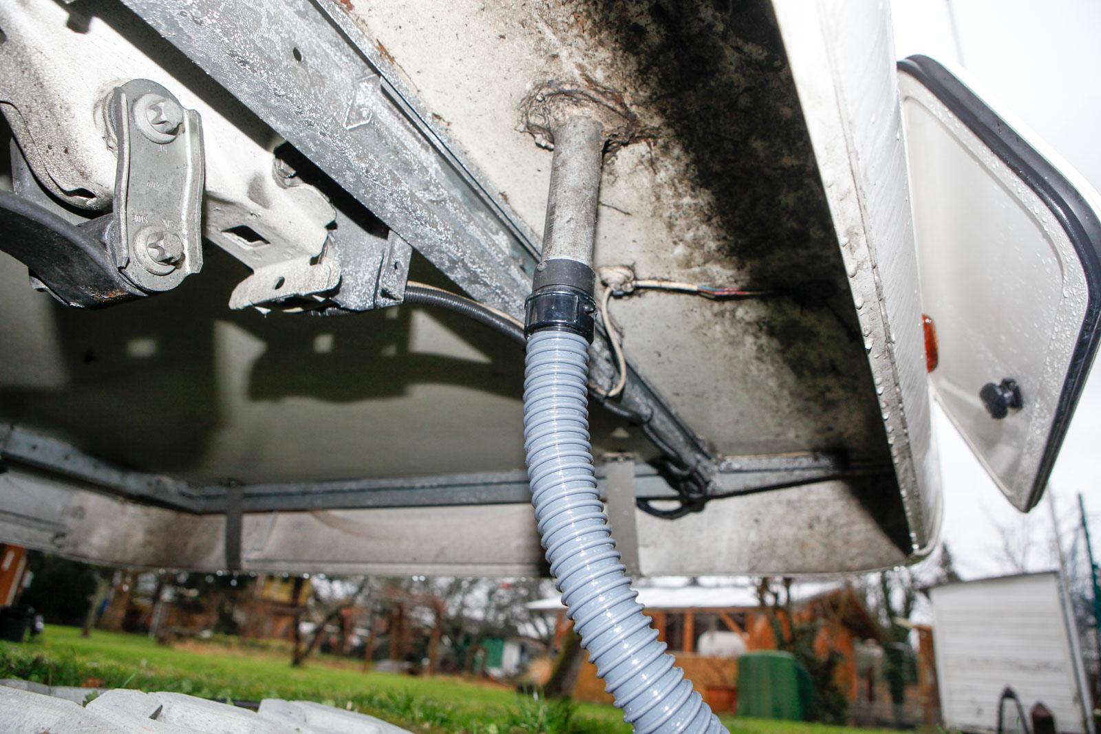 Abwasserschlauch wohnwagen Wohnwagen Abwassertank -