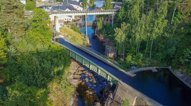 Schweden – Sehenswert: Håverud – Schiffsaquädukt