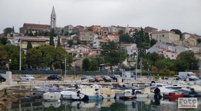 Kroatien im Herbst: In Vrsar im Dauergewitter