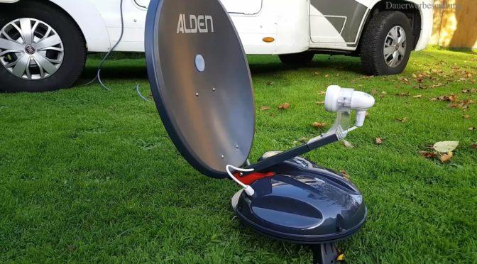 Wir testen die Alden Satanlage -Satlight Track 50 HD – Werbung