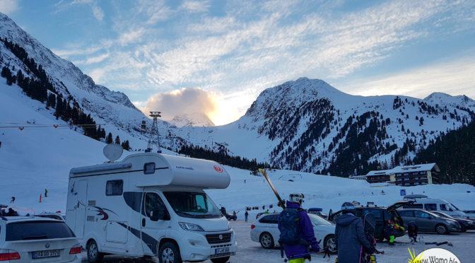 Skifahren und Wohnmobil – die ideale Kombination