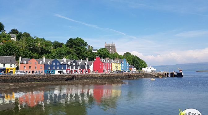 Schottland: Single Road Trip to Tobermory
