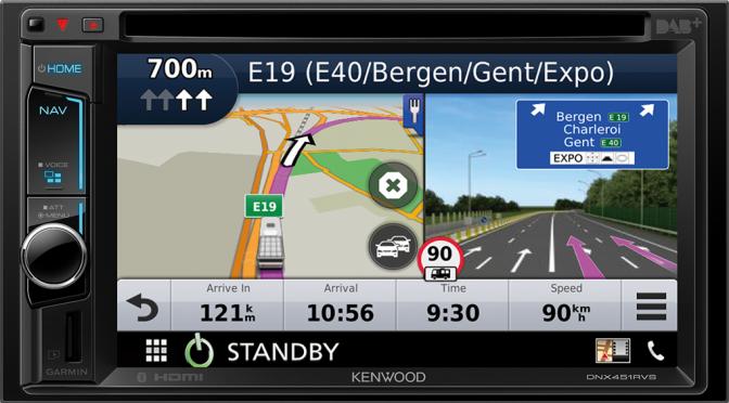 Echte Wohnmobil-Navigation von Kennwood – Werbung