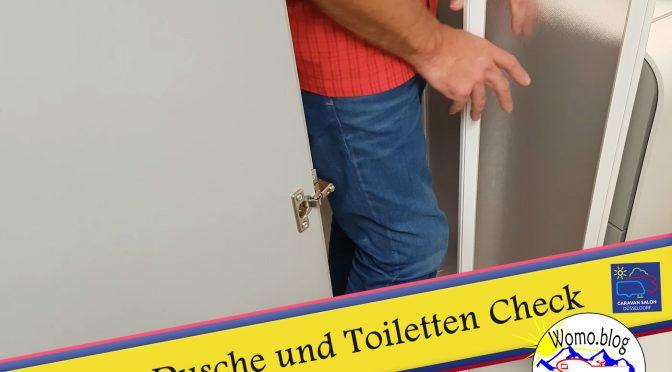 Wohnmobil Test Dusche und Toilette – Caravan Salon