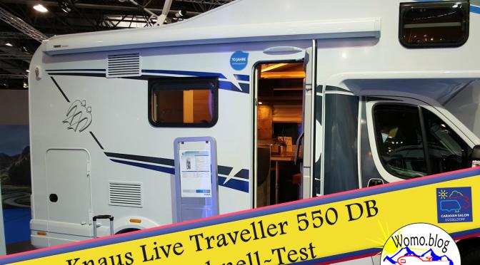 Kleines Alkoven-Wohnmobil: Knaus Live Traveller 550DB