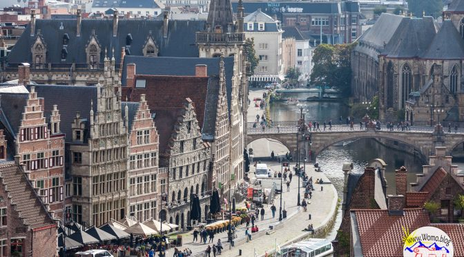 Gent – Bummeln am Fluß