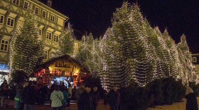 Goslar Weihnachtsmarkt – Winterwald mitten in der Stadt