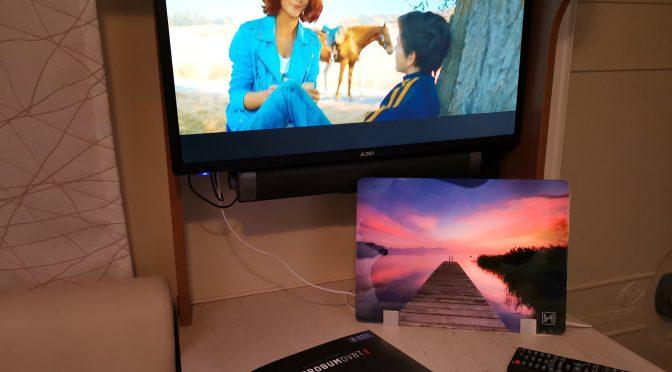 DVB-T2: Braucht man noch eine Sat-Schüssel beim Campen? Werbung
