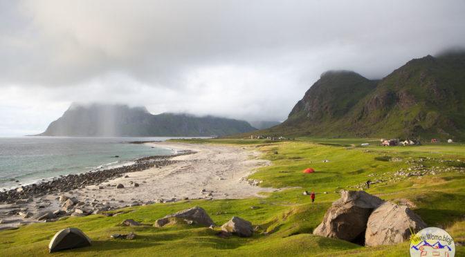Uttakleiv – Lofoten/Norwegen: WOHNMOBIL – HIGHLIGHT