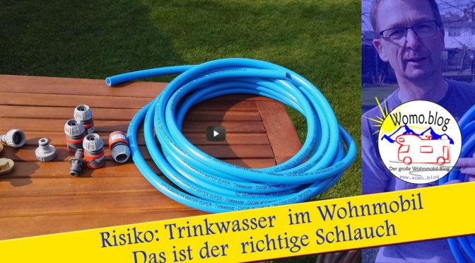 Risiko Trinkwasser im Wohnmobil: So geht es sicher.