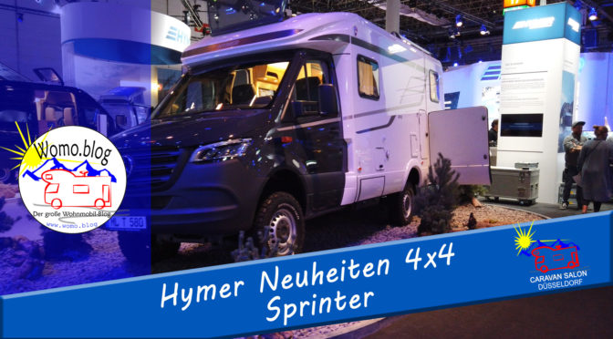 Caravan Salon 2019: Hymer auf Sprinter-Basis