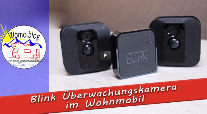 Blink Überwachungskamera im Wohnmobil?