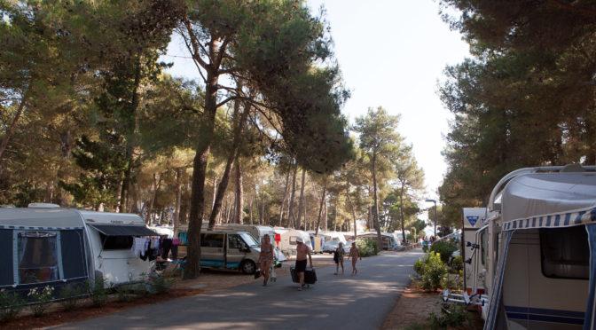 Die Angst geht um: kein freier Platz am Campingplatz