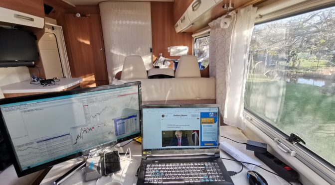 Home Office im Wohnmobil