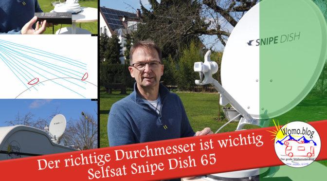 Kleine Sat-Antenne oder große? + Aufbauanleitung Selfsat SnipeDish 65