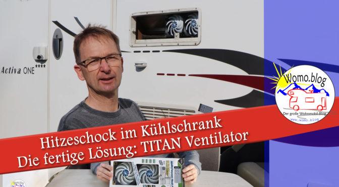 Hitze im Kühlschrank: Die Titan Lösung
