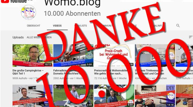 10.000 YouTube Abonnenten