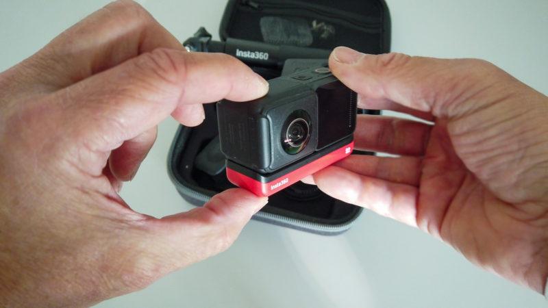 Insta360 One R - 360° Kamera