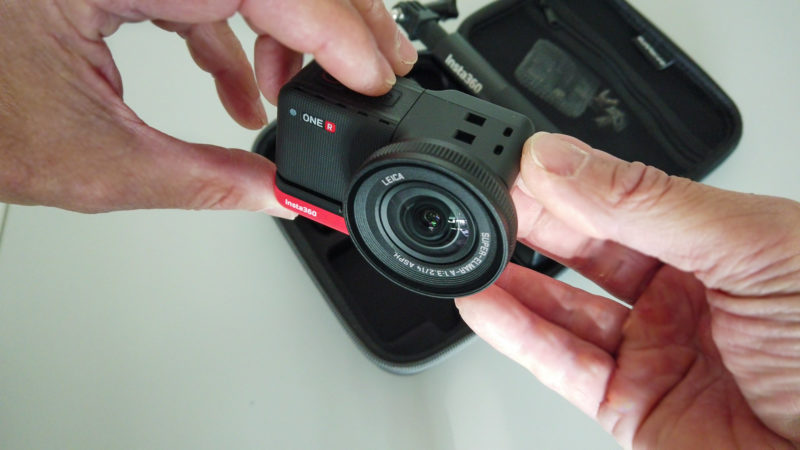 Insta360 One R - Leica 1 Zoll Kamera