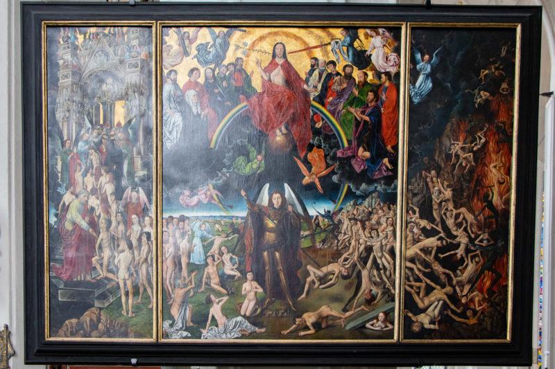 Das Jüngste Gericht (Hans Memling), Triptychon 1467–1471