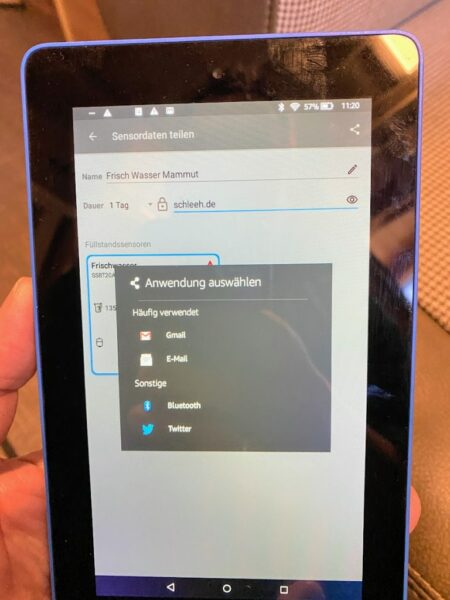 Versand-des-Sensordaten-Zugang-am-Android-Tablet