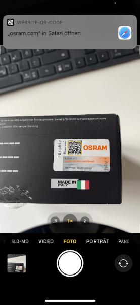 Verifizierung-Osram-LED-via-QR-Code