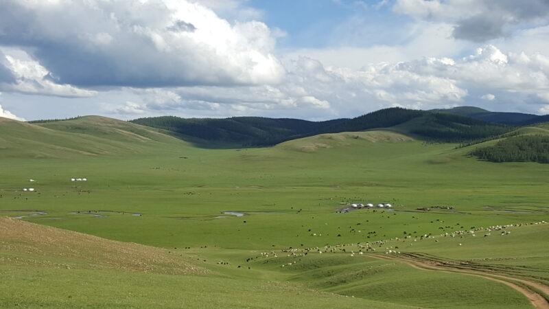 Der Archangai-Aimag ist eine Region im Westen der Mongolei. Sie befindet sich auf der Nordseite des Changai-Gebirges. (c) Ethno Mongol