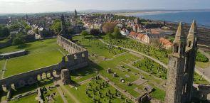 Schottland – zum Golfspielen nach St. Andrews