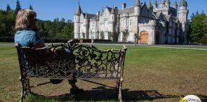 Schottland: Ein Unfall und dann tatsächlich die Queen