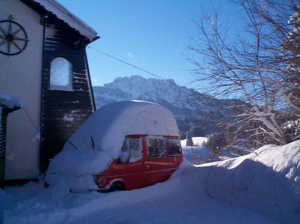 Winter: Wie mache ich mein Wohnmobil winterfest?