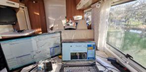 Home Office im Wohnmobil