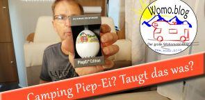 Camping Piep-Ei. Taugt das was?  – Reklame –