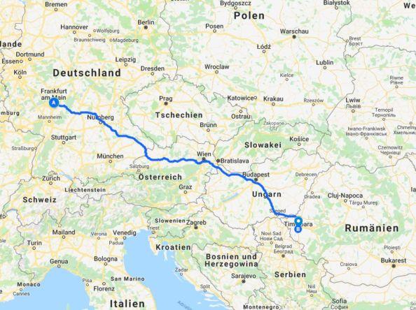 Rumänien – Der Roadtrip beginnt